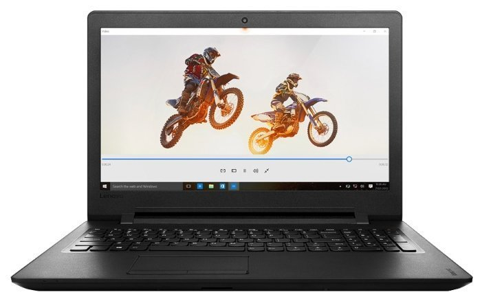 "Ноутбук Lenovo 110-15ACL 15.6"" HD, AMD E1-7010, 4Gb, 500Gb, привода нет, Win10, черный (80TJ00D7RK)"
